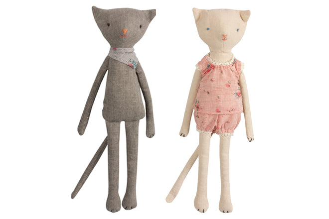 Maileg Mini Kitty Kats soft toys from Cottontails, published by Bobby Rabbit