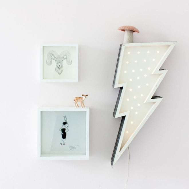 Fromage La Rue LED lighting for children's rooms, published by Bobby Rabbit