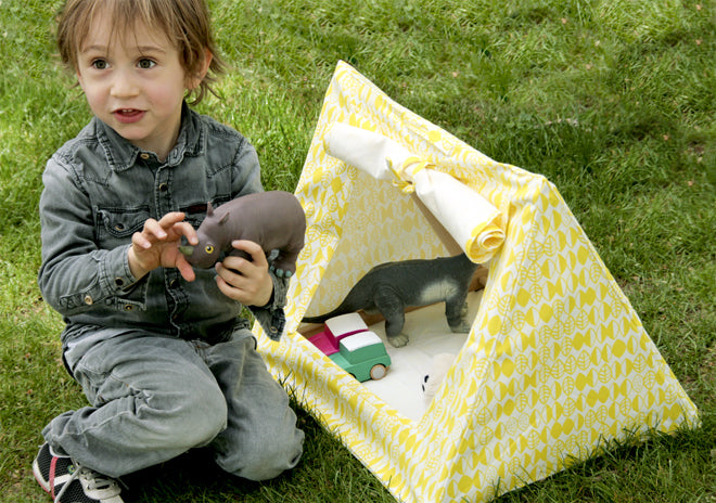 Children's 'mini tent' for toys, designed by Deuz, published by Bobby Rabbit