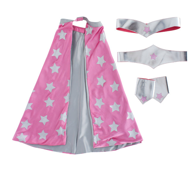 Kickle Girls' Superhero Dressing Up Set from Alex and Alexa, published by Bobby Rabbit