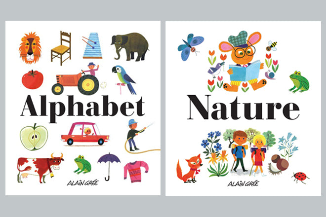 books, children's books, alain gree, alain gree books, nature book, alphabet book, Hop Toy Shop, published by Bobby Rabbit