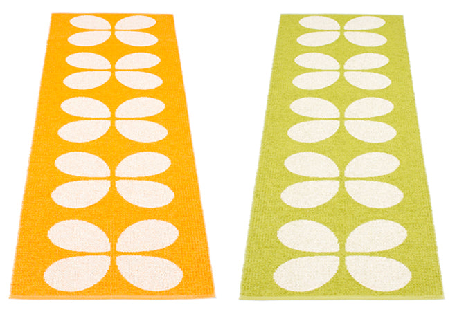 textiles, rugs, children's rugs, patterned children's rugs, bright children's rugs, pappelina aki rugs, Hus and Hem, published by Bobby Rabbit