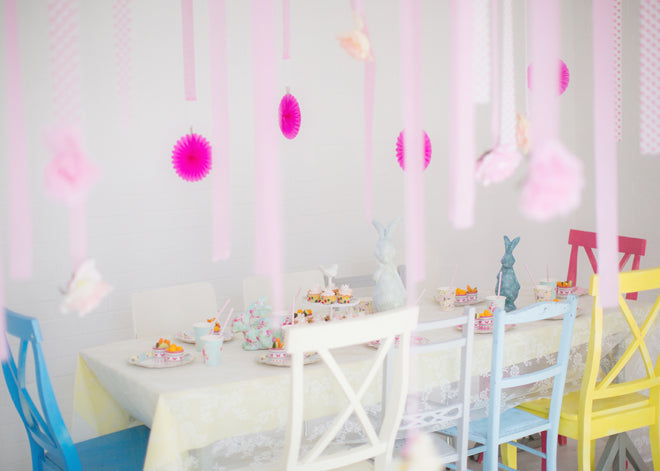 Georgie's Princess Party, styling and photography by JAM Photography and featured on Bobby Rabbit