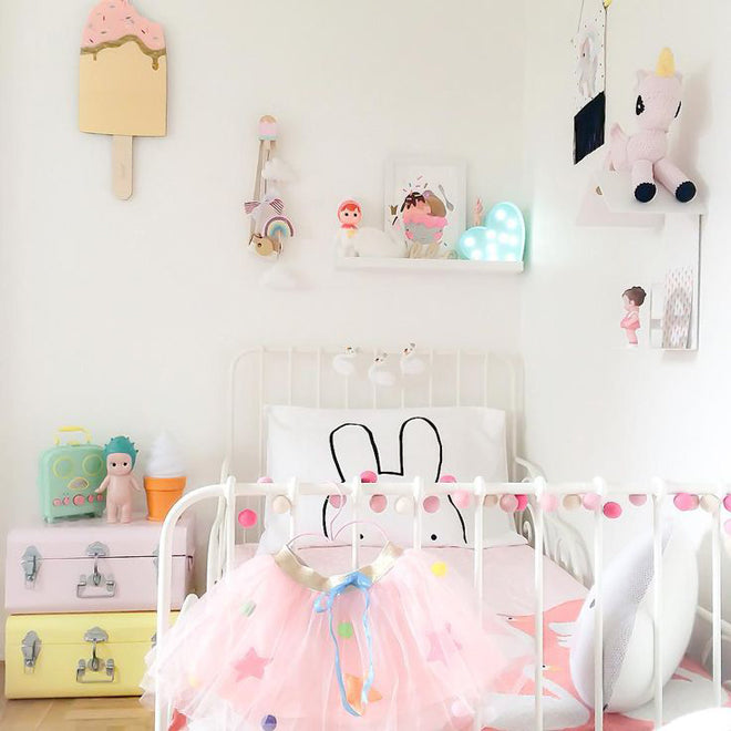 Candy Sweet Girls Room - as featured in Kids Design Life