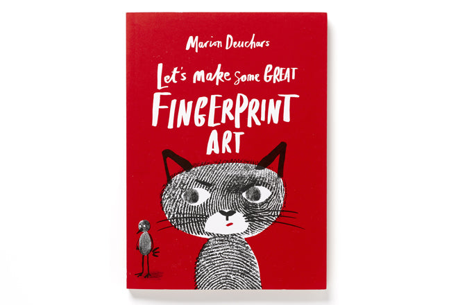 books, activity books, fingerprint art books, art and craft, children's activity books, Marion Deuchars books, Laurence King, published by Bobby Rabbit
