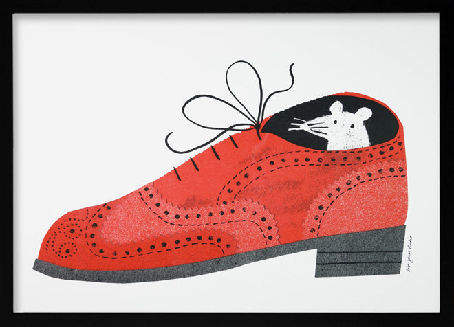 Lisa Jones 'Brogue' print, published by Bobby Rabbit