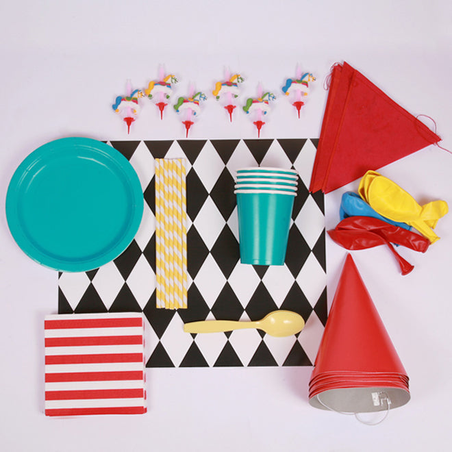 Circus Party Kit from Little Lulubel, published by Bobby Rabbit
