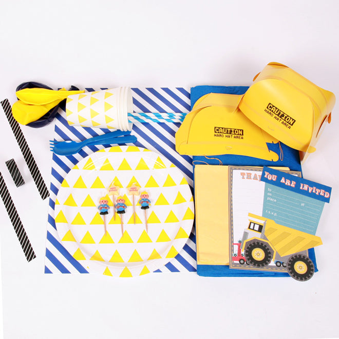 Construction Party Kit from Little Lulubel, published by Bobby Rabbit