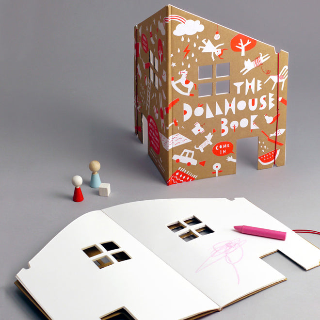 The Dollhouse drawing and colouring book from Little Lulubel, published by Bobby Rabbit