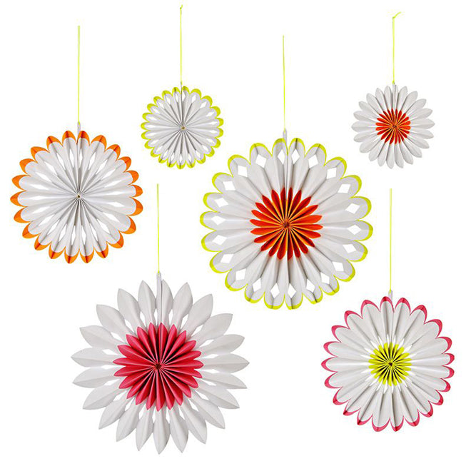 Flower Pinwheel Decorations from Little Lulubel, published by Bobby Rabbit