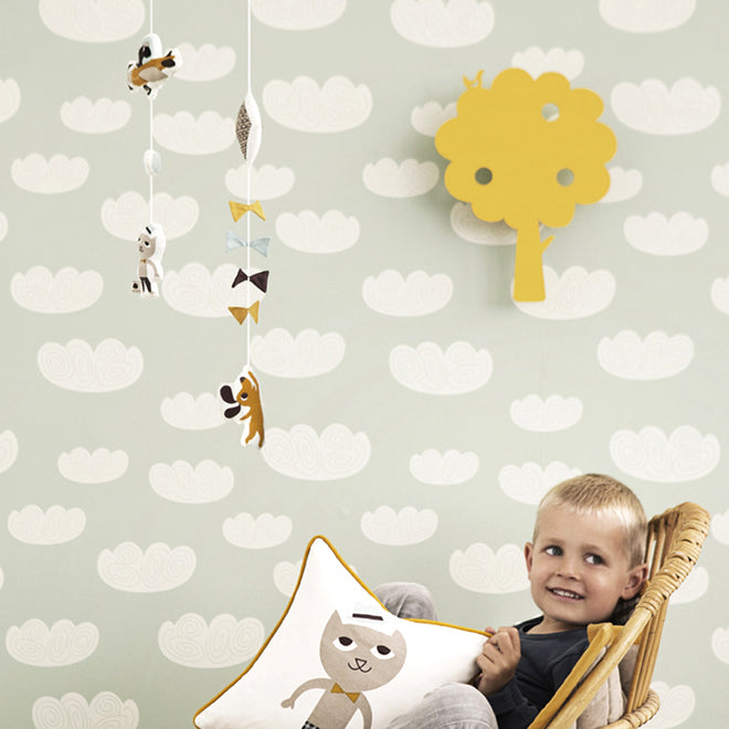 Ferm Living children's 'Tree' wall lamp from Lullabuy, published by Bobby Rabbit