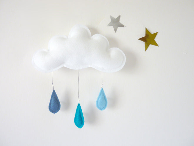 accessories, room decoration, mobiles, cloud mobile