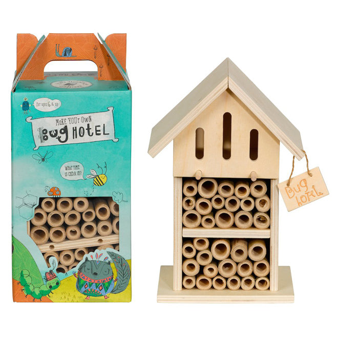Little Thoughtful Gardener Make Your Own Bug Hotel for children, published by Bobby Rabbit