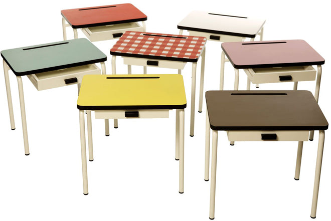 furniture, tables and chairs, children's desks, children's tables, children's chairs, Les Gambettes, Molly Meg, published by Bobby Rabbit