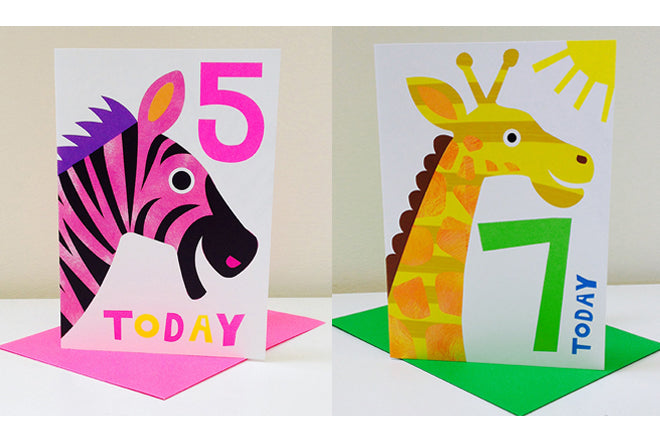 Nella 'Little Critters' birthday cards for children, published by Bobby Rabbit