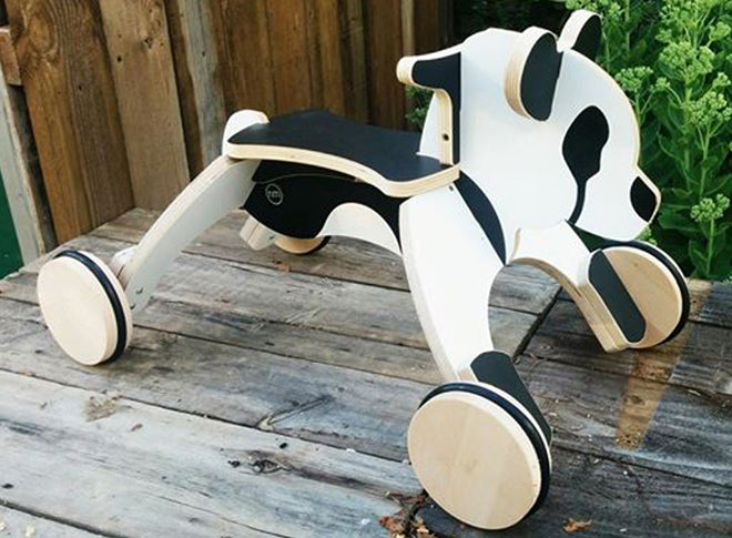 Panda Roller ride-on toy by Newmakers, published by Bobby Rabbit