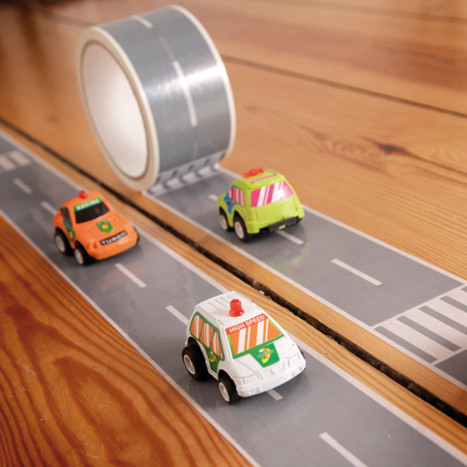 toys, activity toys, boys toys, boys gifts, stocking fillers, My First Autobahn tape, Artful Kids, Notonthehighstreet, published by Bobby Rabbit
