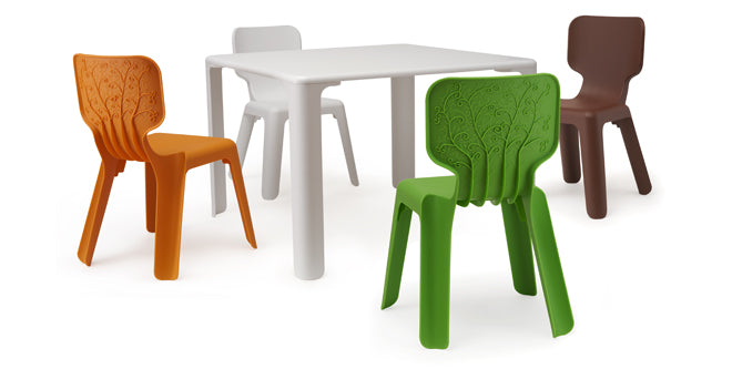 furniture, children's furniture, children's chairs, Magis Alma chair, Nubie, published by Bobby Rabbit