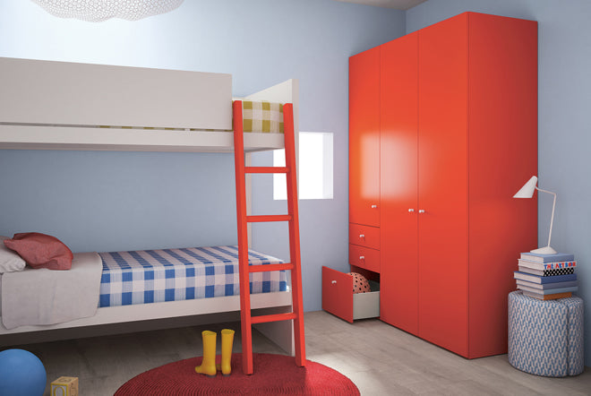 'Camelot' children's bunk bed by Nidi Design, available at Nubie, published by Bobby Rabbit