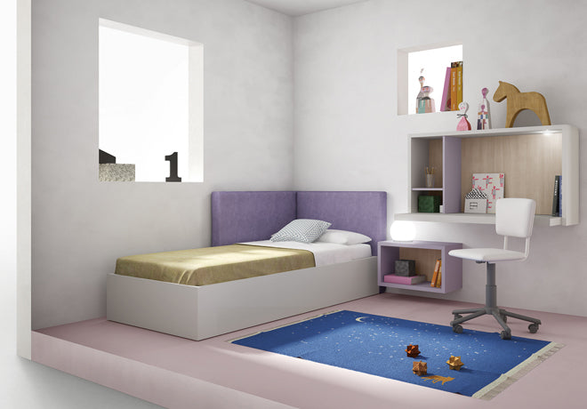 'Conti' children's single bed by Nidi Design, available at Nubie, published by Bobby Rabbit