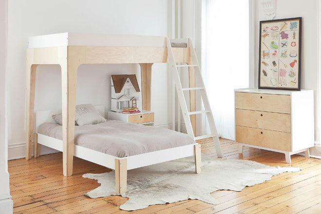 furniture, children's furniture, children's beds, children's bunkbeds, Oeuf NYC, Perch bunkbed, Nubie, published by Bobby Rabbit