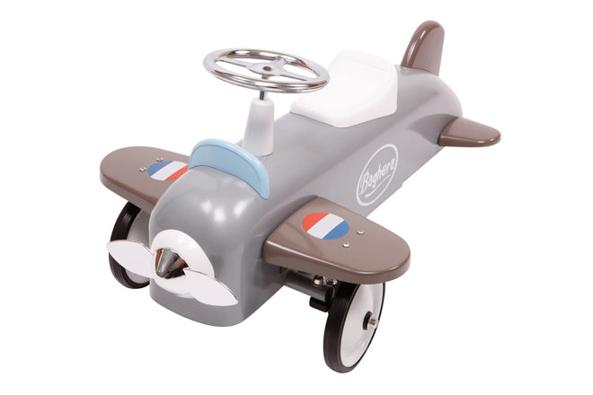toys, activity toys, ride-on toys, ride-on plane, Baghera plane, Pedal Play, published by Bobby Rabbit