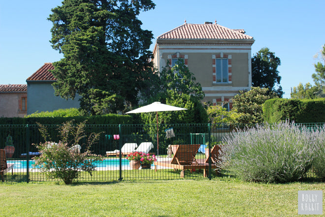 Domaine Les Hirondelles, a family holiday give near Carcassonne, France (photos published by Bobby Rabbit)