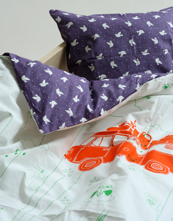 textiles, children's bedding, children's duvet cover sets, Rafa Kids, published by Bobby Rabbit