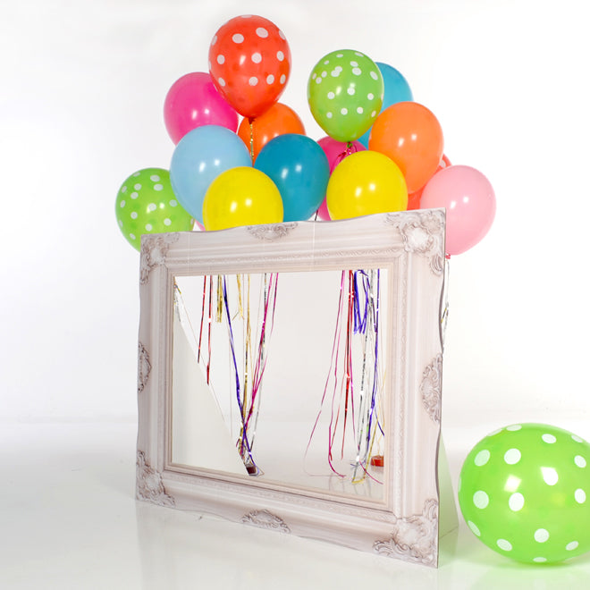 Tiny Tots Photobooth Frame for children's parties, designed by Scene-Setter and published by Bobby Rabbit