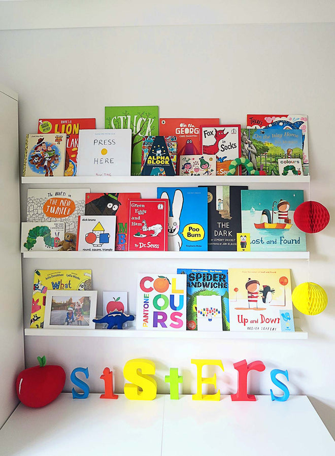 A Colourful Shared Bedroom by Mummy Daddy Me, featured on Bobby Rabbit