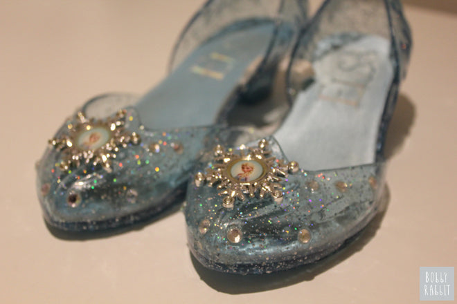 Elsa Shoes from the movie Frozen, published by Bobby Rabbit