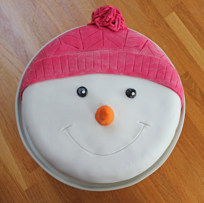 Snowman Cake, made by Bobby Rabbit