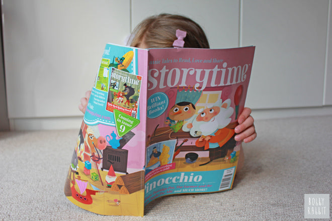 Storytime Magazine for children, published by Bobby Rabbit