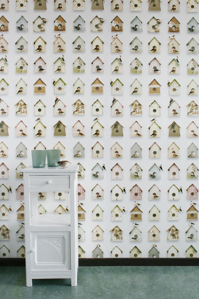 STUDIO DITTE 'BIRDHOUSE' WALLPAPER