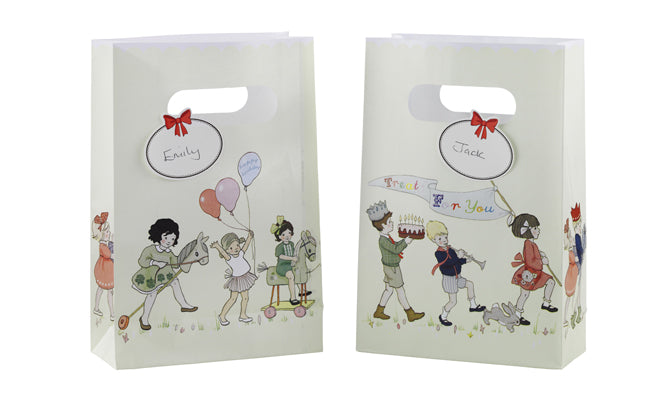 party, childrens party, kids party, children's party bags, Belle and Boo party, Talking Tables, published by Bobby Rabbit