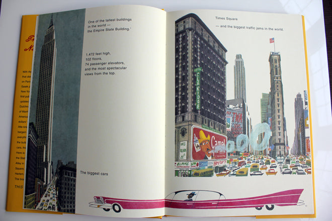 books, children's books, children's travel books, Miroslav Sasek travel books, This is New York, The Kid Who, published by Bobby Rabbit