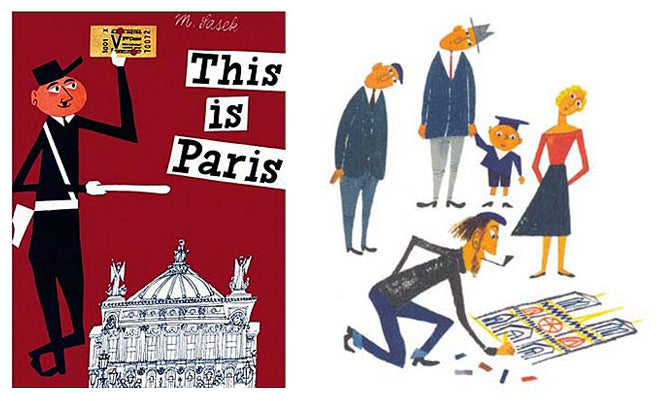 books, children's books, children's travel books, Miroslav Sasek travel books, This is London, This is Paris, This is New York, The Kid Who, published by Bobby Rabbit