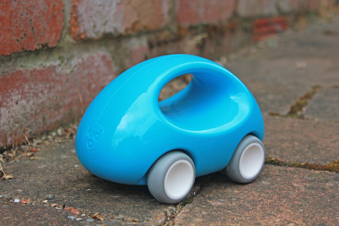 Kid-O 'Go Car' from Toyella, made from 100% recycled plastic, published by Bobby Rabbit