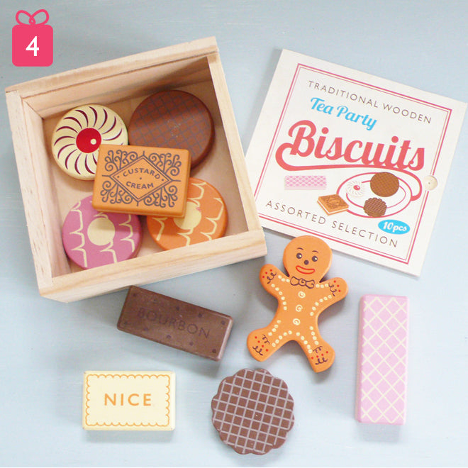 toys, wooden toys, wooden biscuits, gifts, christmas gifts, Notonthehighstreet, published by Bobby Rabbit