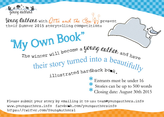 Young Authors Personalised Children's Story Books - Competition