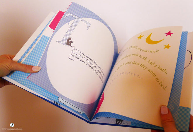 Young Authors Personalised Children's Story Books, published by Bobby Rabbit
