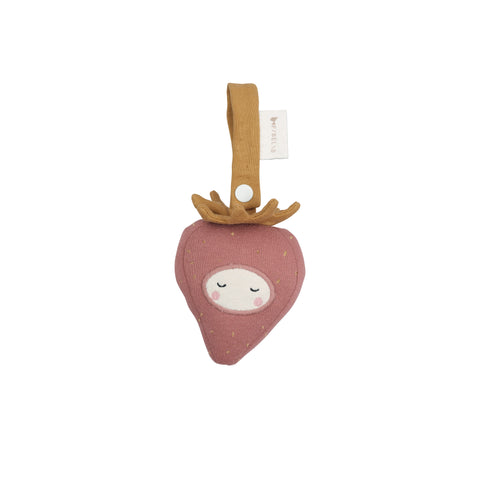 Activity Toy - Strawberry by Fabelab, available at Bobby Rabbit. Free UK Delivery over £75