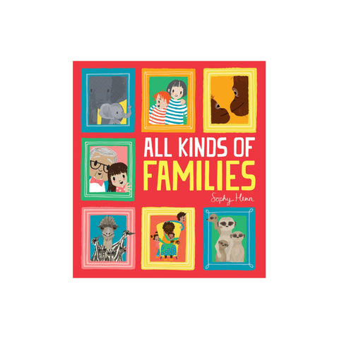 All Kinds Of Families Book, available at Bobby Rabbit. Free UK Delivery over £75