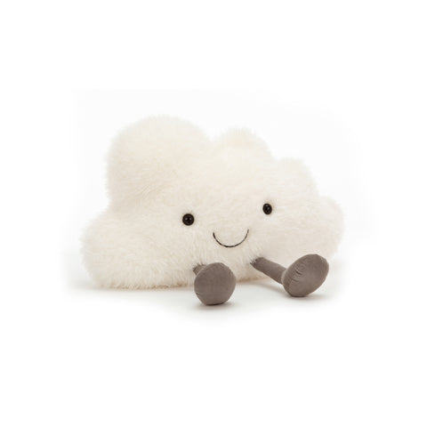 Amuseable Cloud Soft Toy Cushion, designed and made by Jellycat and available at Bobby Rabbit. Free UK Delivery over £75