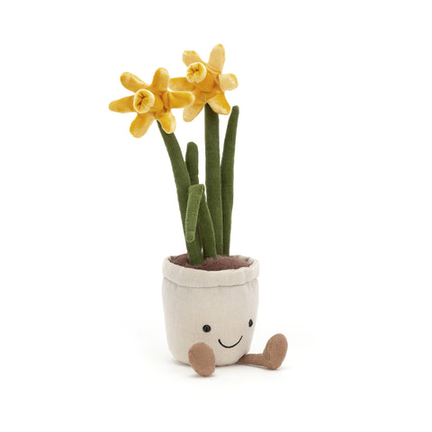 Amuseable Daffodil Soft Toy, designed and made by Jellycat and available at Bobby Rabbit. Free UK Delivery over £75