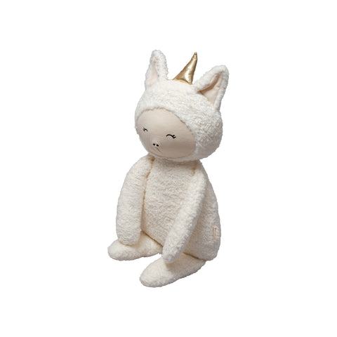 Big Buddy Unicorn Soft Toy by Fabelab, available at Bobby Rabbit.