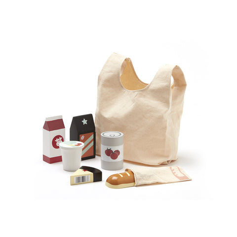 Grocery Shopping Set by Kids Concept, available at Bobby Rabbit. Free UK Delivery over £75