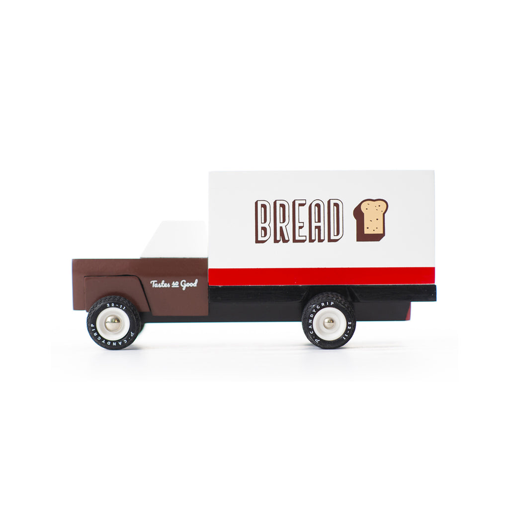 Bread Truck wooden vehicle by Candylab, available at Bobby Rabbit.