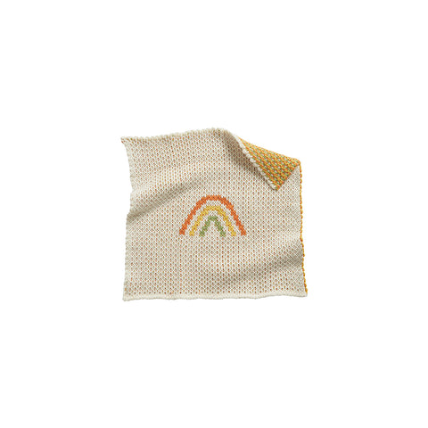 Dinkum Doll Rainbow Blanket by Olli Ella, available at Bobby Rabbit. Free UK Delivery over £75