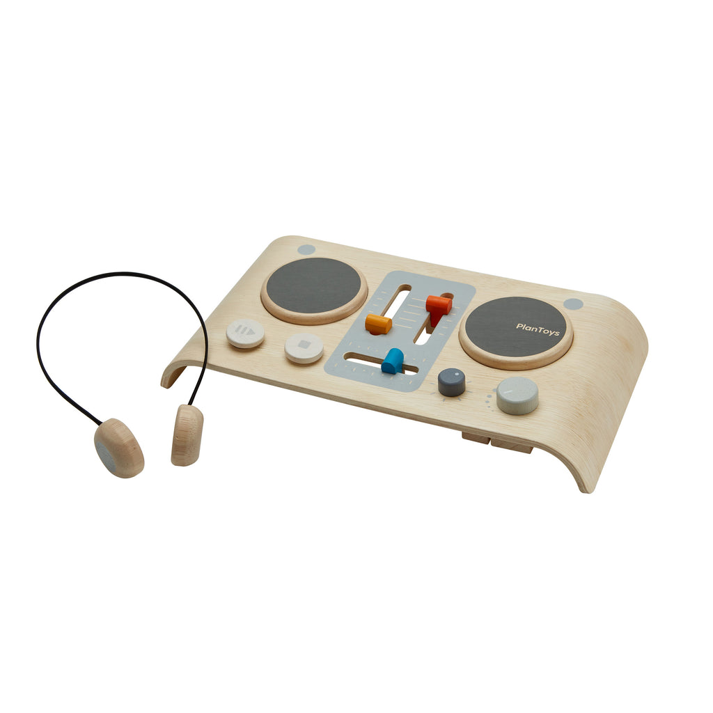 DJ Mixer Board by Plantoys, available at Bobby Rabbit. Free UK Delivery over £75